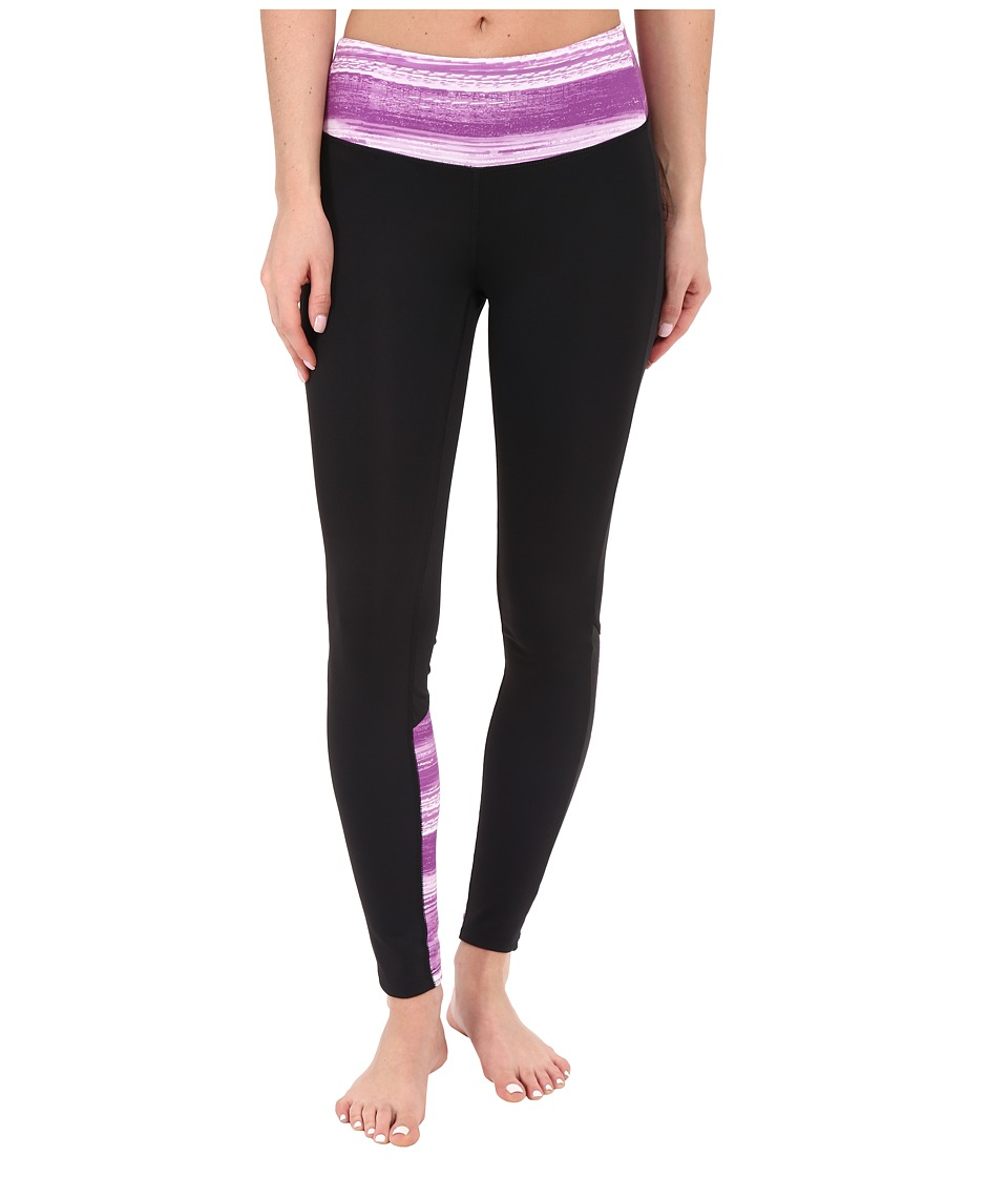 New Balance - Fashion Tights (Voltage Violet Print) Women's Casual Pants