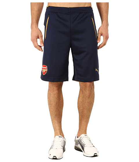 PUMA - AFC Training Shorts (Black Iris/Victory Gold) Men