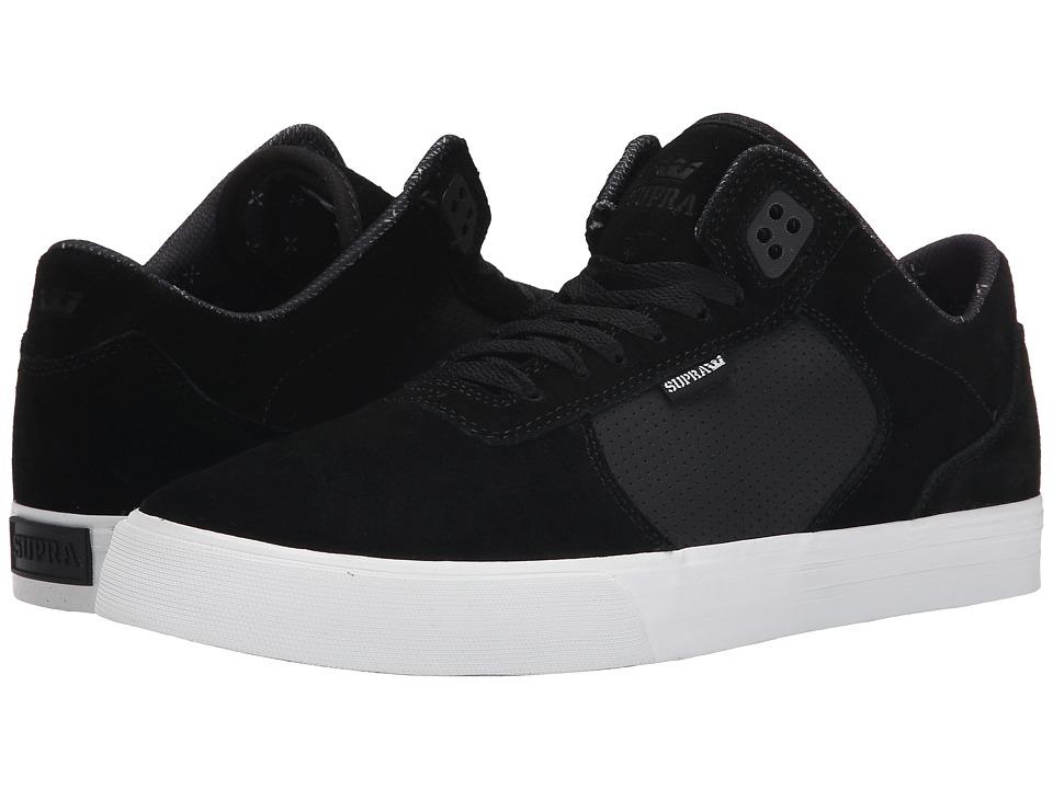 Supra - Ellington Vulc (Black Suede) Men's Skate Shoes