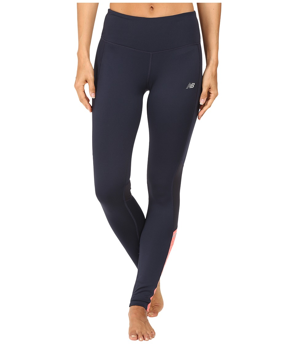 New Balance - Novelty Cold Weather Tech Tights (Flame) Women's Workout