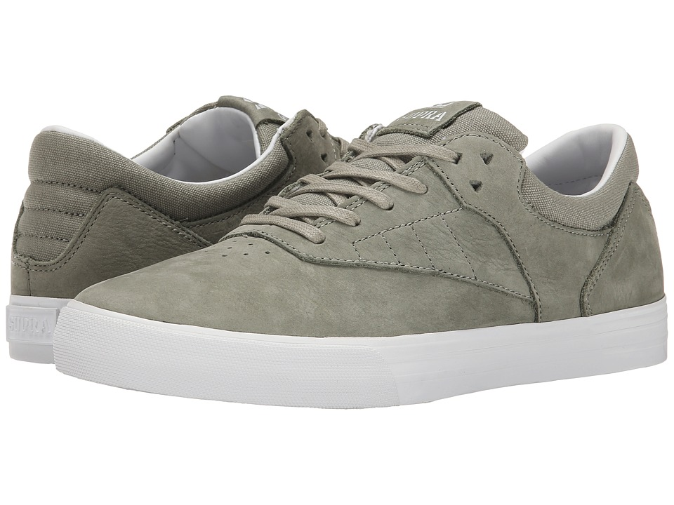 Supra - Phoenix (Laurel Oak Full Grain Leather/Canvas) Men's Skate Shoes