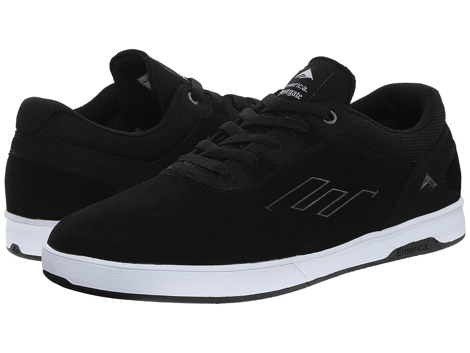 Emerica - The Westgate CC (Black/White) Men's Skate Shoes