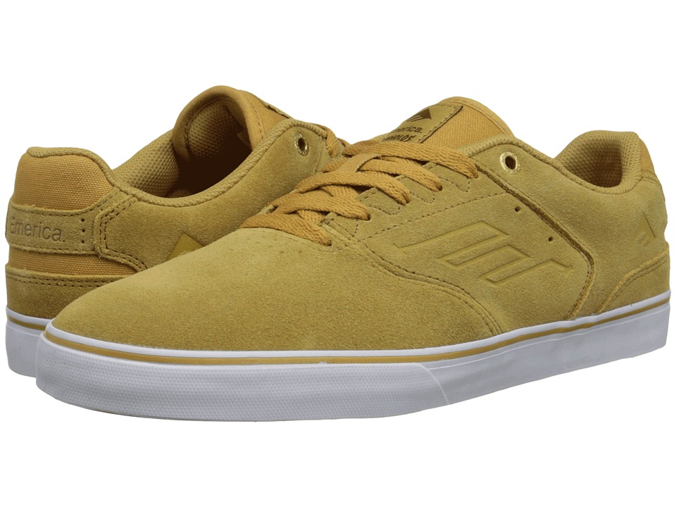 Emerica - The Reynolds Low Vulc (Tan/White/Gum) Men
