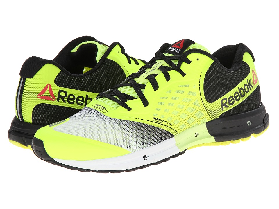 Reebok - One Guide 2.0 (Solar Yellow/White/Black) Men