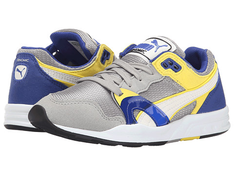 Puma Kids - Trinomic XT1 Plus (Little Kid/Big Kid) (Drizzle/White/Blazing Yellow) Boys Shoes