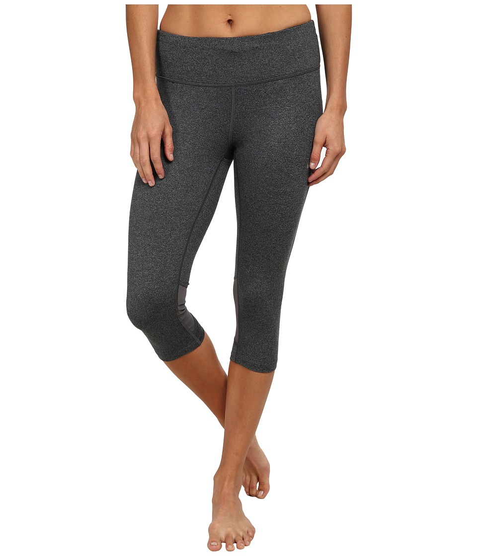 Nike - Dri-Fit Epic Run Capri (Black/Cool Grey/Heather/Reflective Silver) Women's Capri