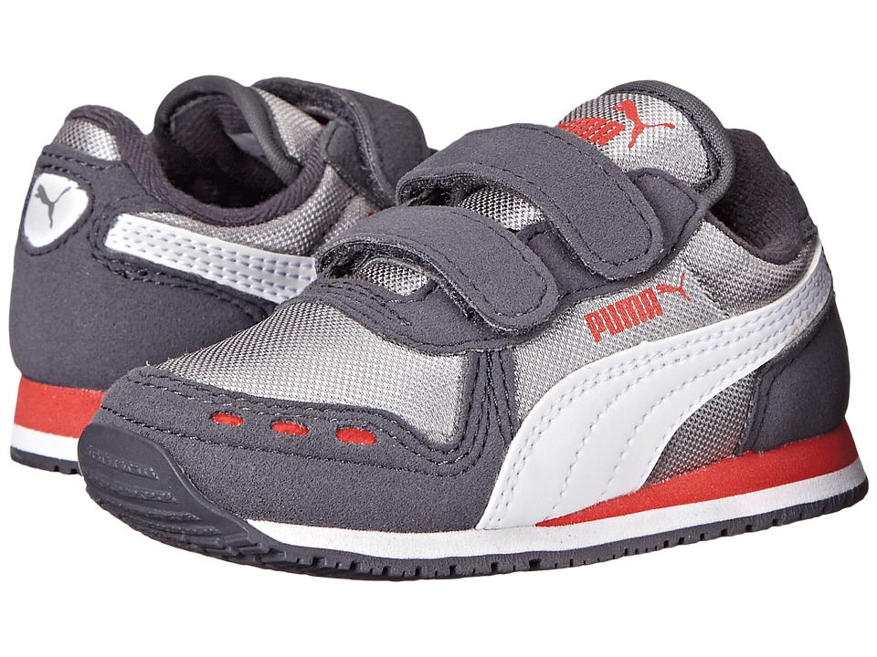 Puma Kids - Cabana Racer Mesh (Toddler/Little Kid/Big Kid) (Periscope/Drizzle/White) Boys Shoes