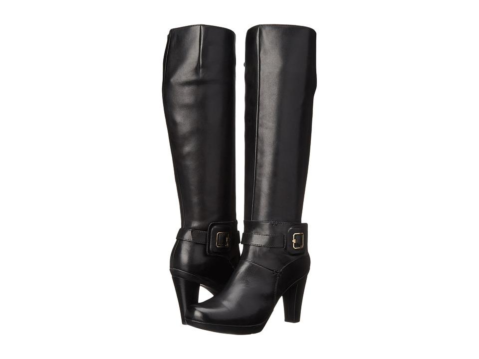 Geox - D Inspiration Stiv 9 (Black) Women's Zip Boots