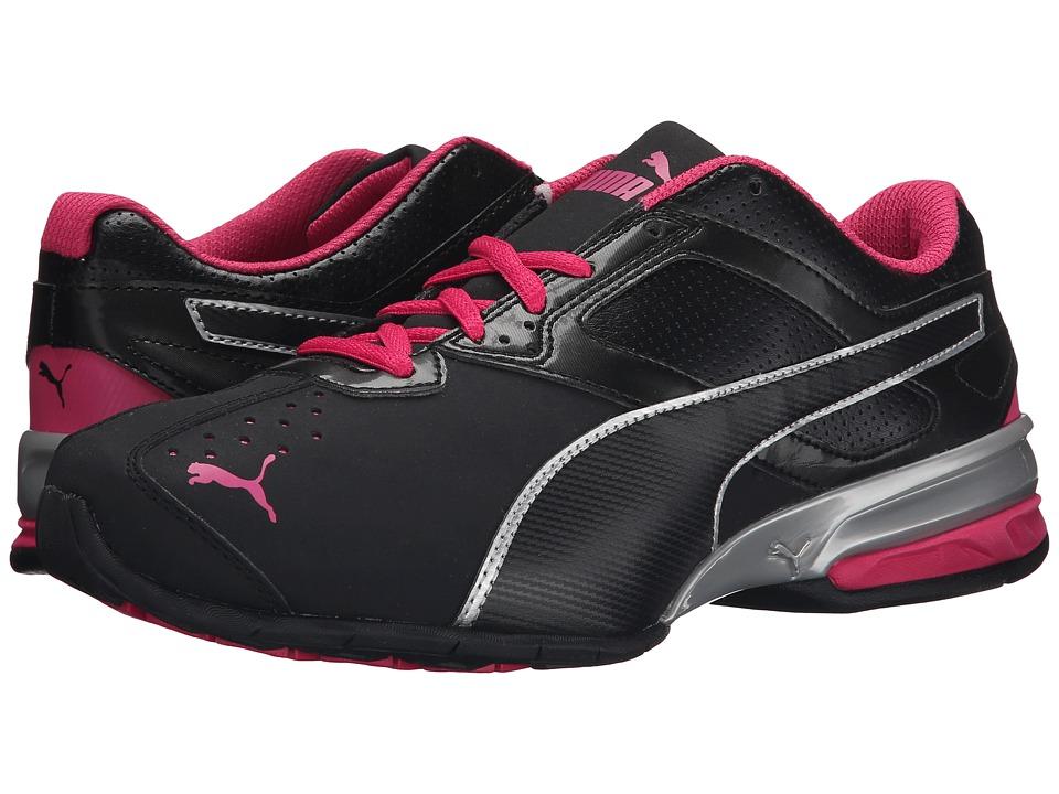 PUMA - Tazon 6 Wide (Black/Puma Silver/Beetroot Purple) Women's Shoes