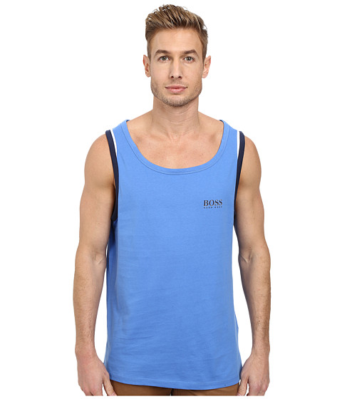 BOSS Hugo Boss - Beach Tank Top 10180 (Bright Blue) Men