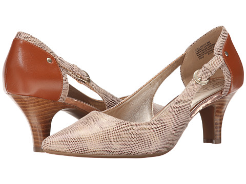 Circa Joan & David - Clarity (Medium Brown/Medium Brown Fabric) High Heels