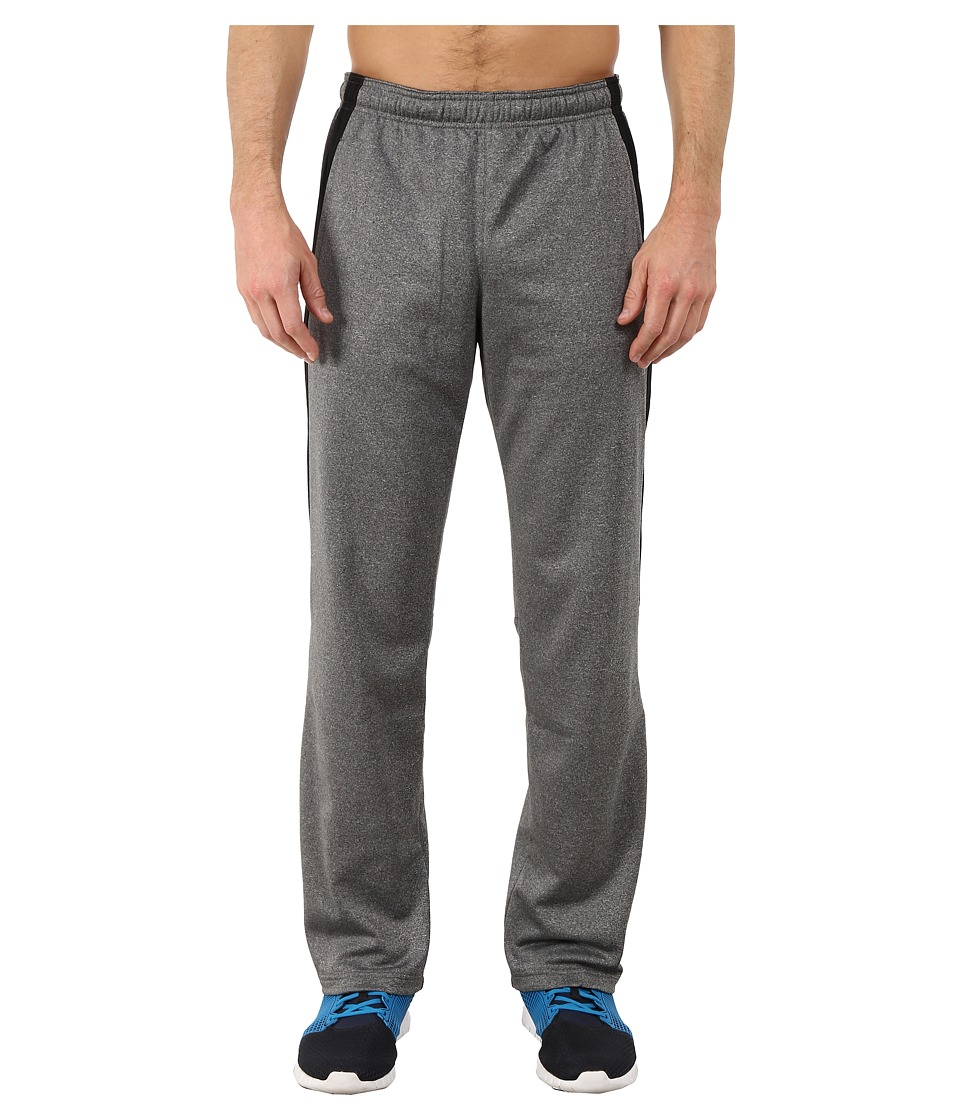 Reebok - Workout Ready Poly Fleece Pants (Dark Grey Heather) Men's Casual Pants
