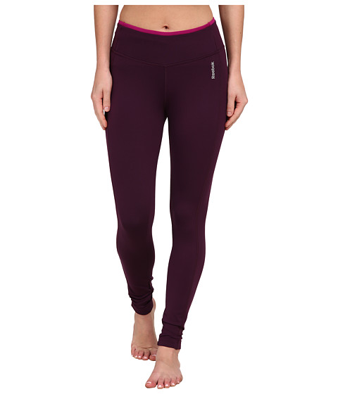 Reebok - Sport Essentials Tight (Royal Orchid/Fierce Fuchsia) Women