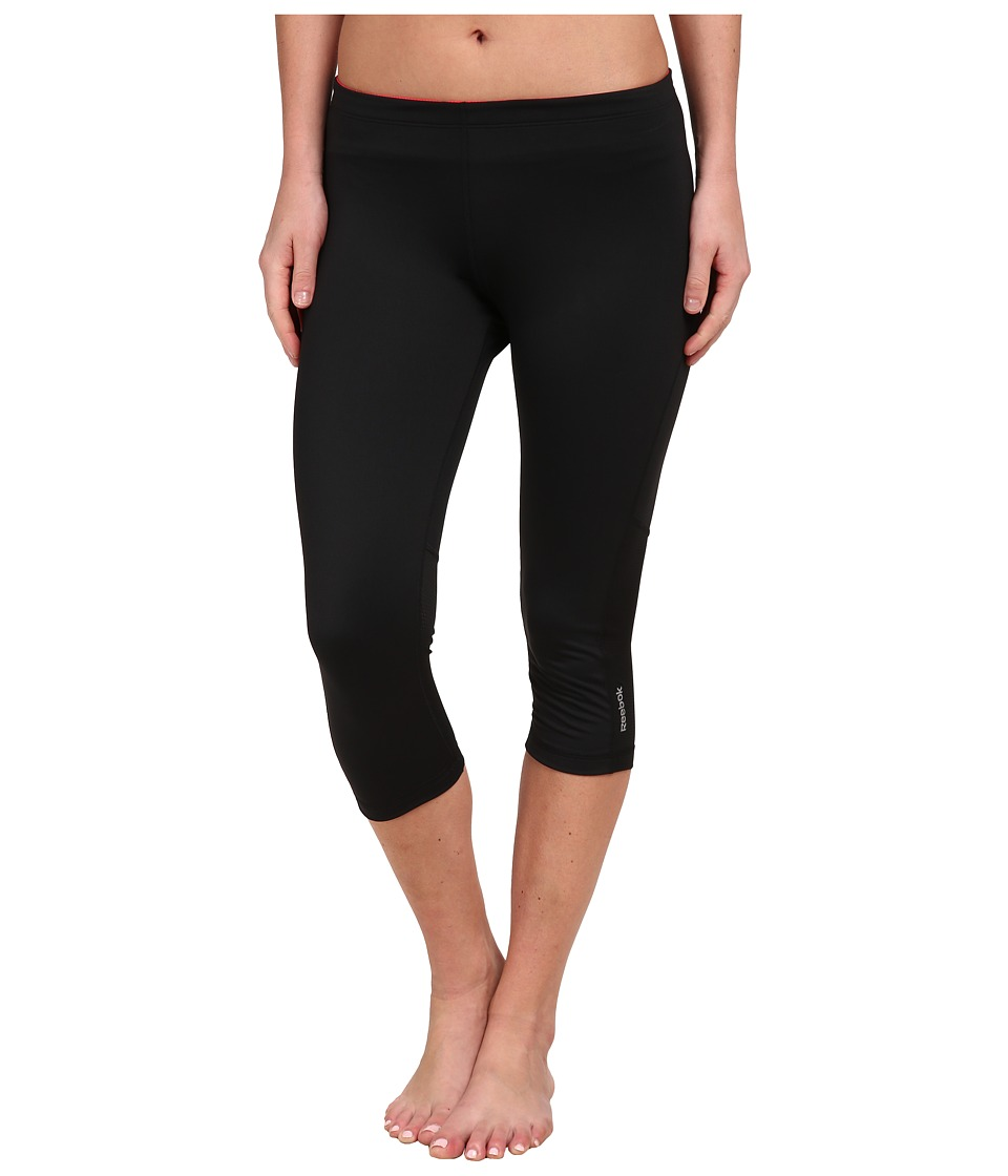 Reebok - Running Essential Capris (Black) Women's Capri