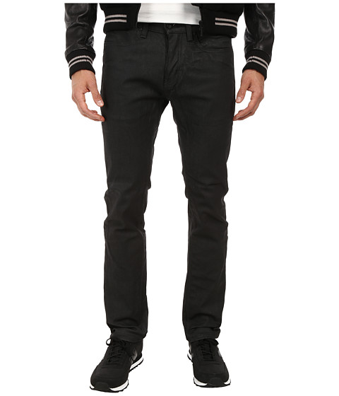 KR3W - K Slim Coated in Carbon (Carbon) Men's Jeans