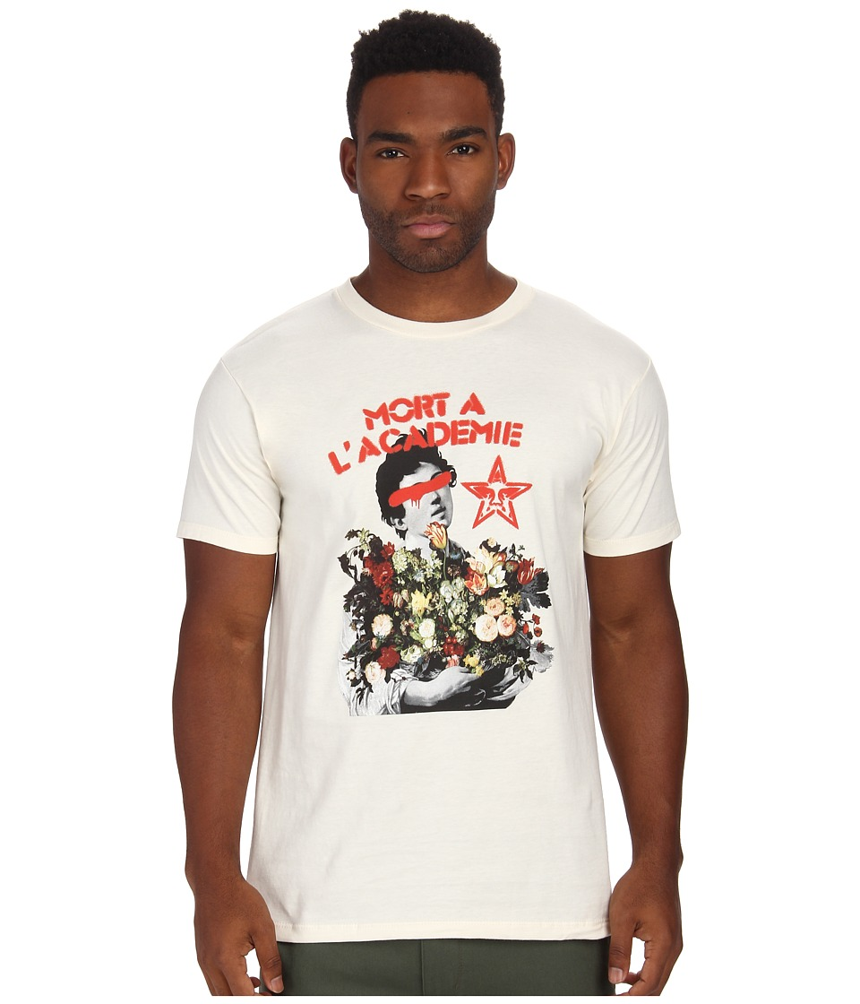 Obey - L'Academie Tee (Cream) Men's T Shirt