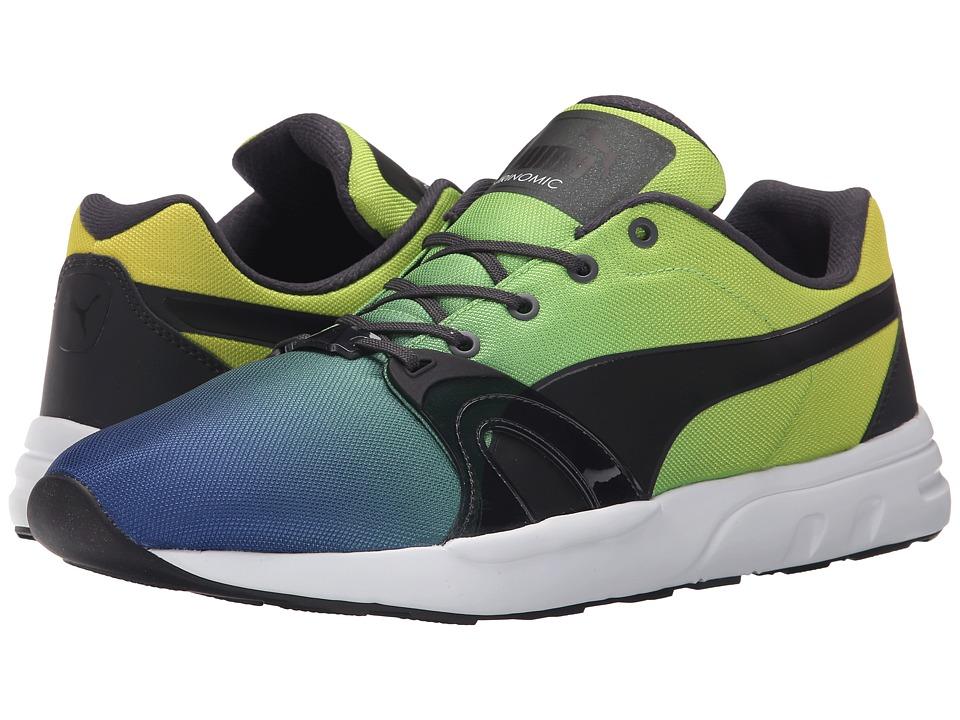 PUMA - XT S Blur (Limoges/Dark Shadow/Blazing Yellow) Men's Shoes