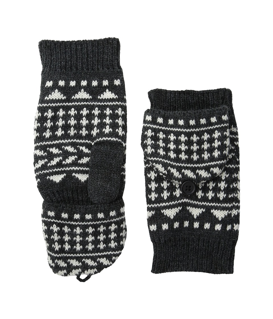 Pistil - Nessie Mitten (Charcoal) Over-Mits Gloves