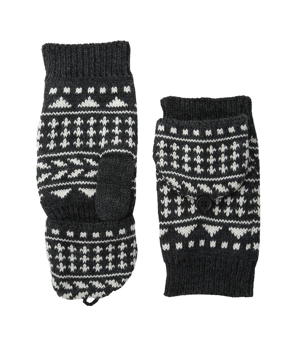 Pistil - Nessie Mitten (Charcoal) Over-Mits Gloves