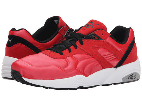 PUMA - R698 Matt Shine (High Risk Red/White/Black) Men's Shoes