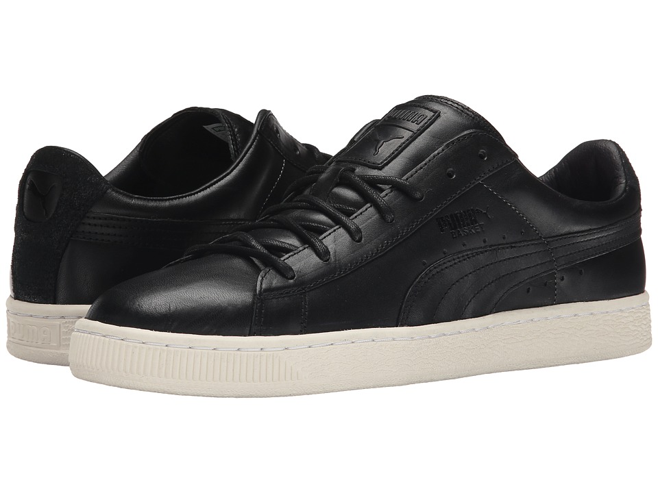 PUMA - Basket Citi Series (Black/Whisper White) Men