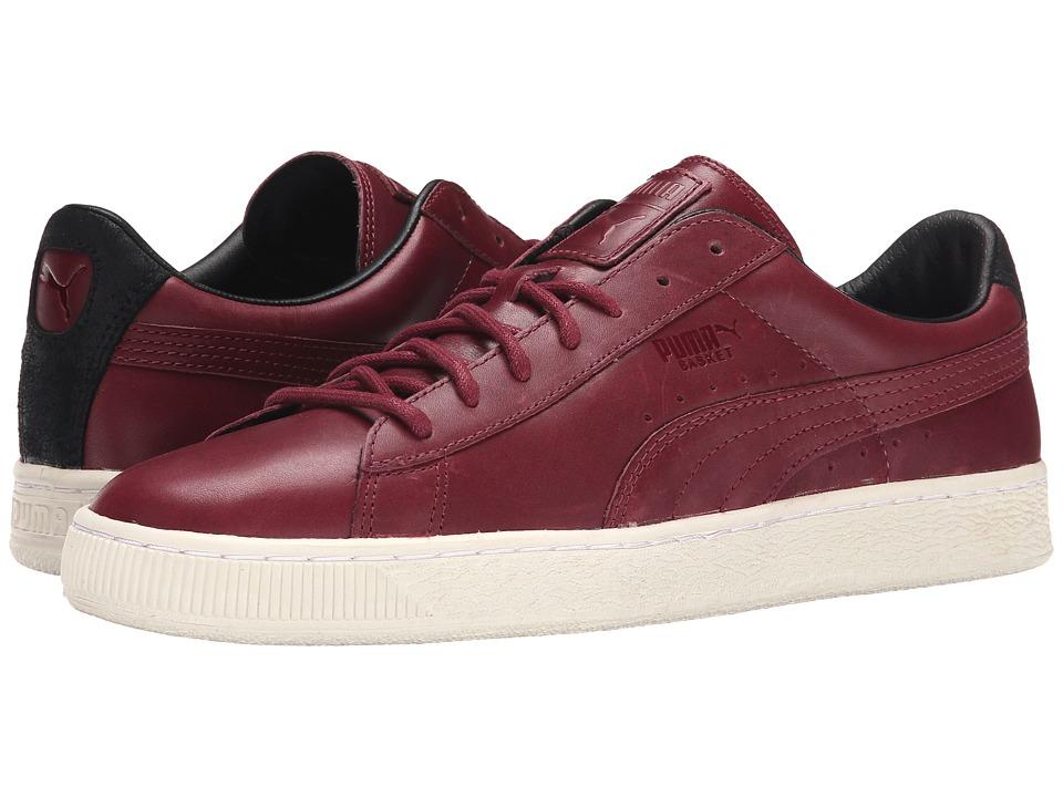 PUMA - Basket Citi Series (Cabernet/Cabernet/Cabernet) Men's Lace up casual Shoes