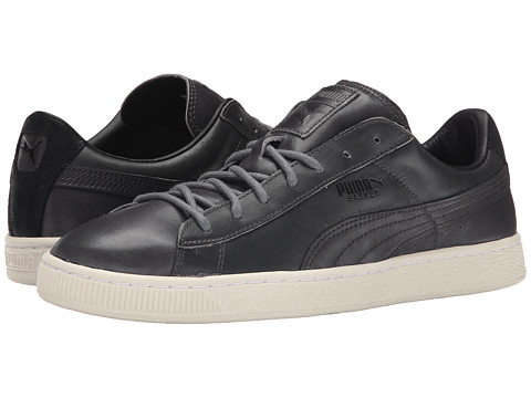 PUMA - Basket Citi Series (Steel Gray/Steel Gray/Steel Gray) Men
