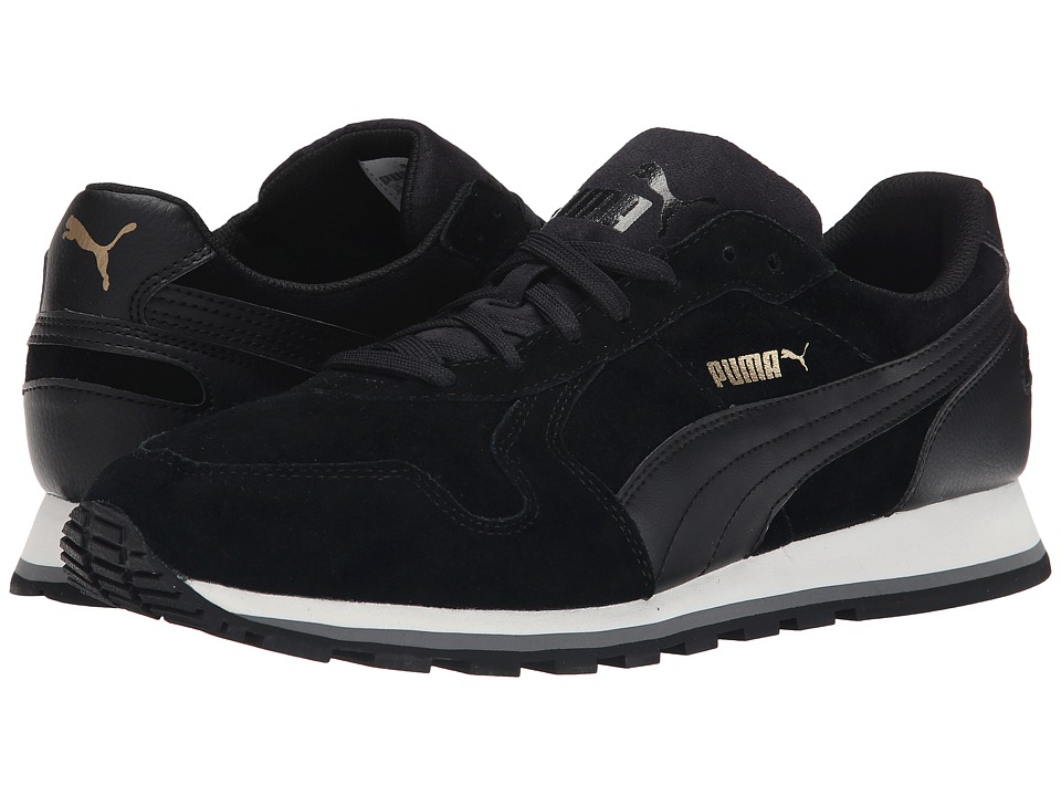 PUMA - ST Runner SD (Black/Black) Men's Running Shoes