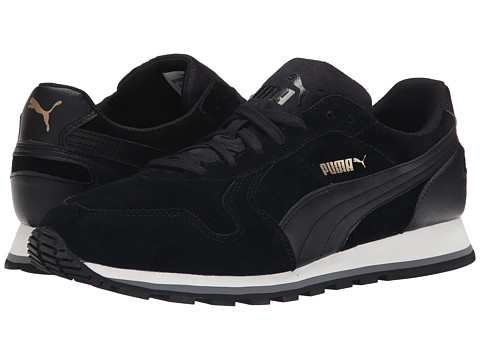 PUMA - ST Runner SD (Black/Black) Men