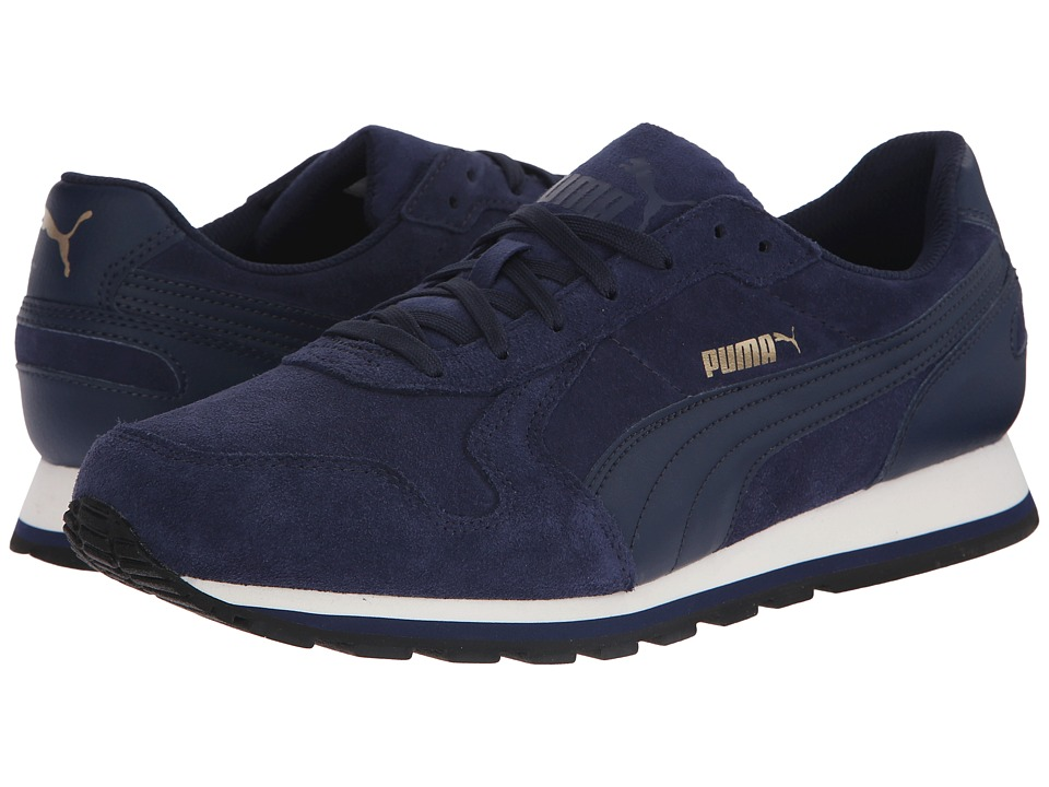 PUMA - ST Runner SD (Peacoat/Peacoat) Men's Running Shoes