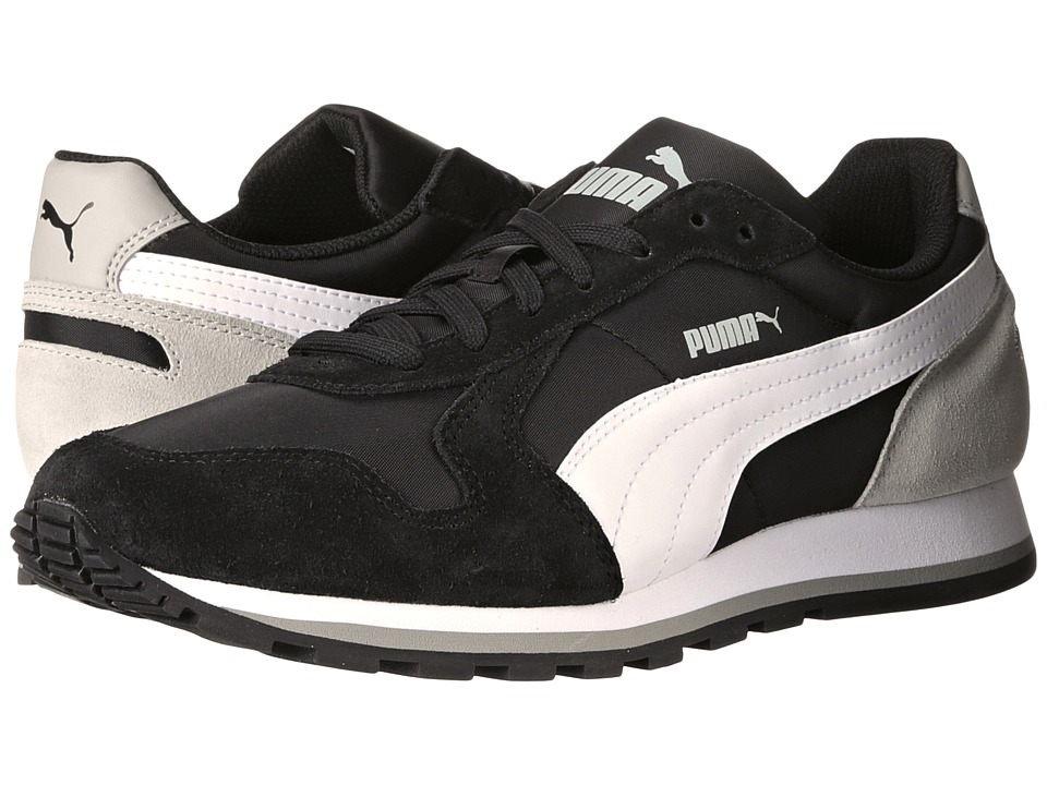 PUMA - ST Runner NL (Black/White/Limestone Gray) Men