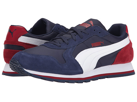 PUMA - ST Runner NL (Peacoat/White/Rio Red) Men's Running Shoes
