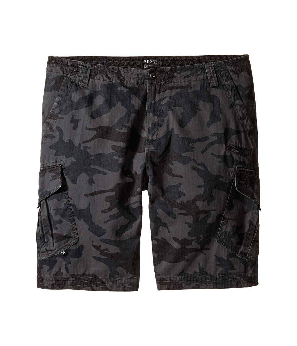 Fox - Slambozo Cargo Camo Shorts (Grey Camo) Men's Shorts