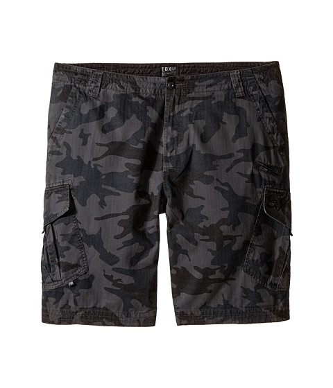Fox - Slambozo Cargo Camo Shorts (Grey Camo) Men