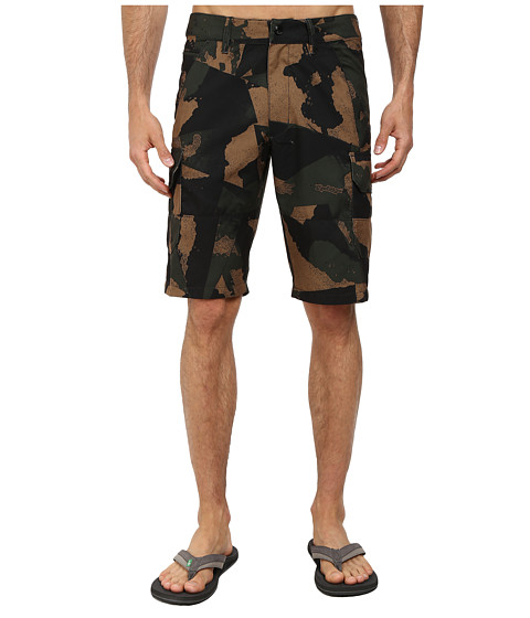 Fox - Slambozo Tech Camo Shorts (Army Camo) Men's Shorts