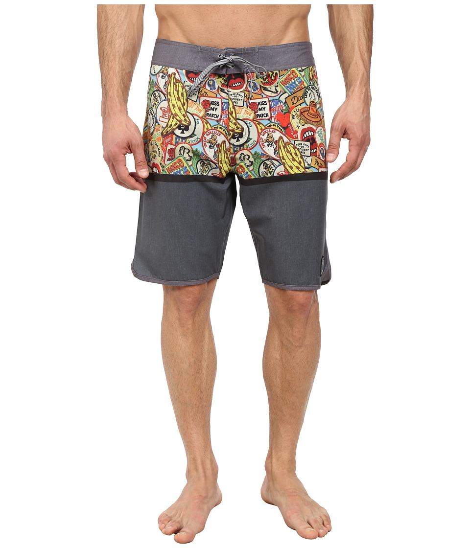 Matix Clothing Company - Osa Boardshorts (Black) Men's Swimwear