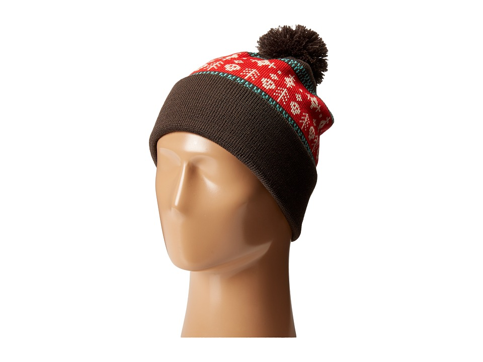 Pistil - Bruno (Brown) Knit Hats