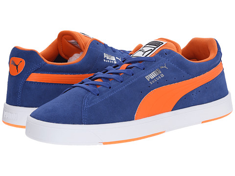 PUMA - Suede Skate (Limoges/Orange) Men