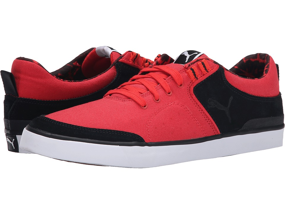 PUMA - Funist Slider Vulc Mat Pack (Poppy Red/Black/Gum) Men's Lace up casual Shoes