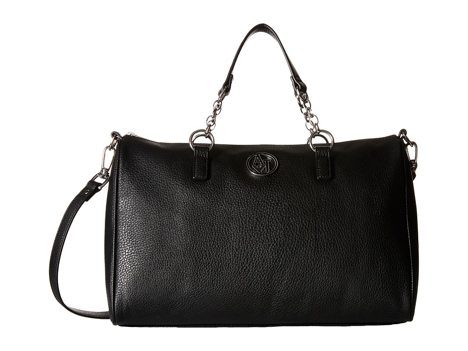 Armani Jeans - Chain Bowler (Black) Handbags