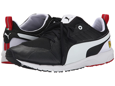 PUMA - Pitlane SF Night Cat (Black/White) Men