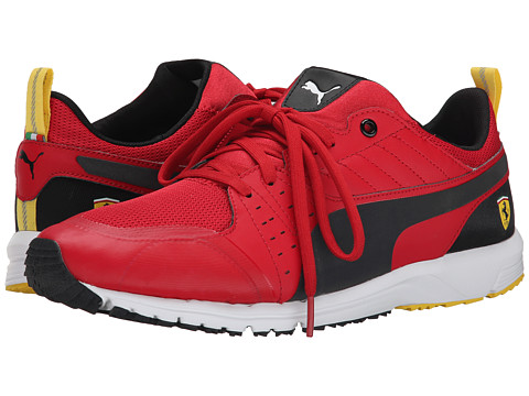 PUMA - Pitlane SF Night Cat (Rosso Corsa/Black) Men's Shoes