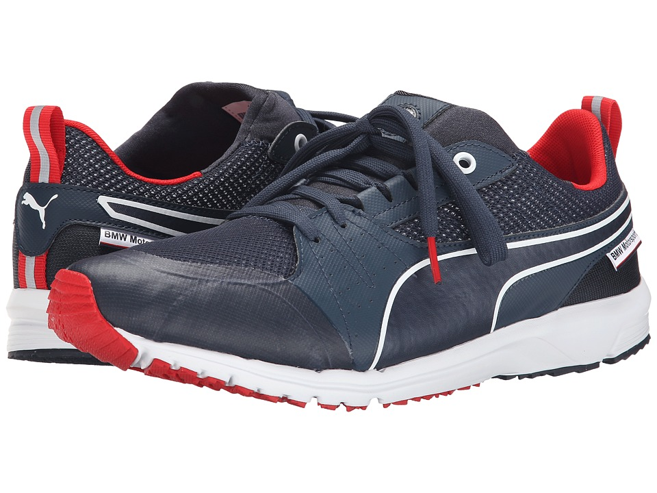 PUMA - BMW MS Pitlane Nightcat (BMW Team Blue/High Risk Red) Men's Shoes