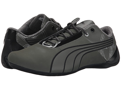 PUMA - Future Cat S1 Graphic (Dark Shadow/Dark Shadow/Black) Men's Shoes