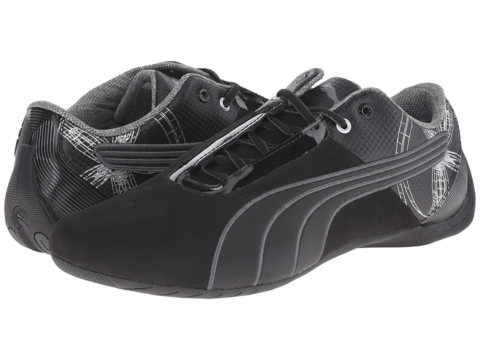 PUMA - Future Cat S1 Graphic (Black/Black/Dark Shadow) Men