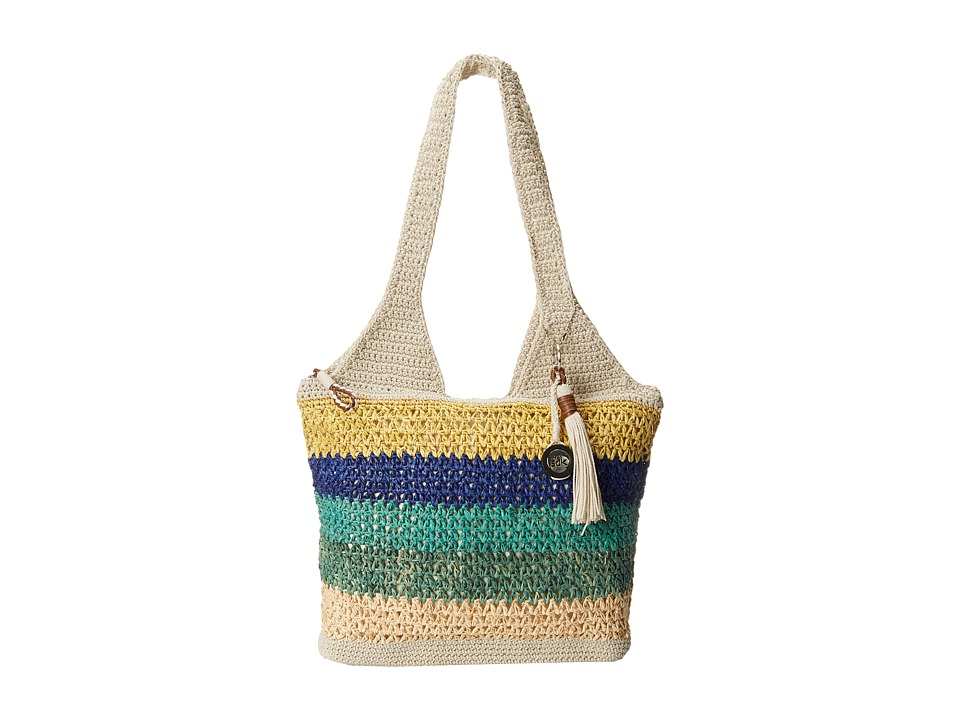 The Sak - Casual Classics Large Tote (Multi Raffia) Tote Handbags