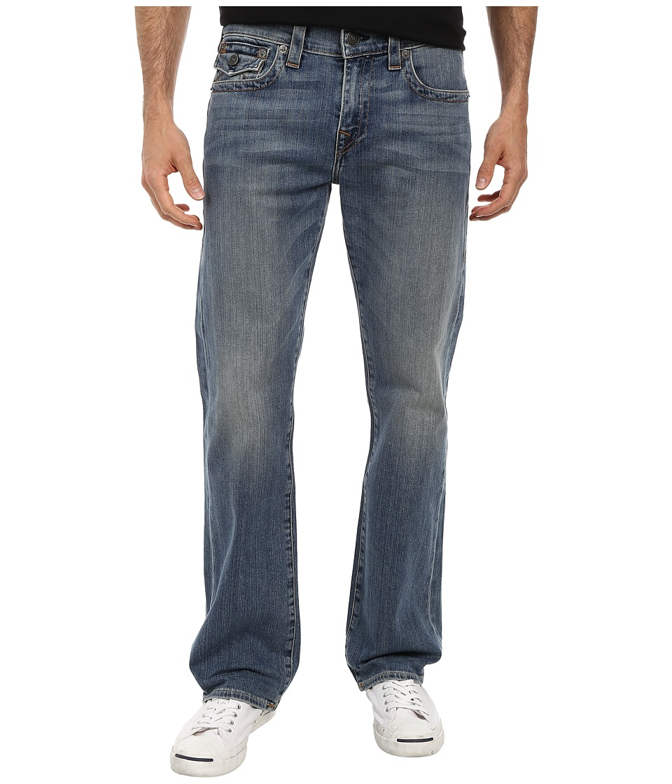True Religion - Billy w/ Flap in White Pine (White Pine) Men's Jeans