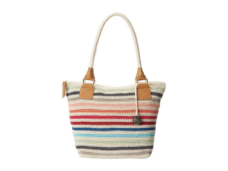 The Sak - Cambria Large Tote (Prism Stripe) Shoulder Handbags