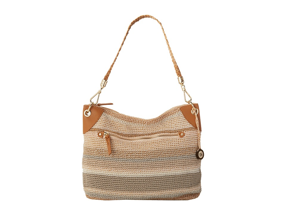 The Sak - Portola Hobo (Sand Stripe) Hobo Handbags