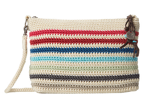 The Sak - Classic Minis 3-in-1 Clutch (Prism Stripe) Cross Body Handbags
